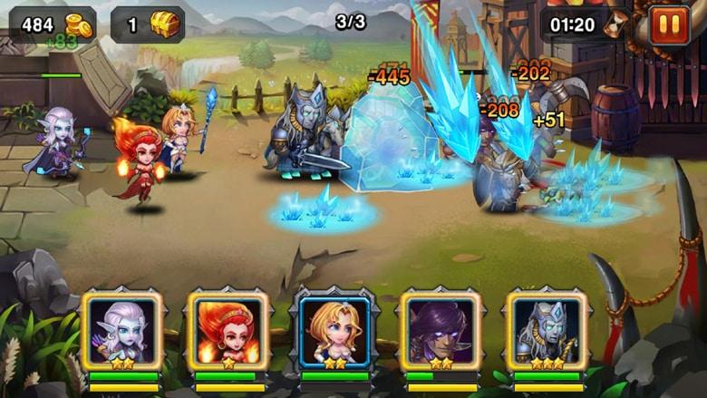 Heroes Charge healer
