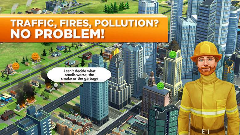 SimCity BuildIt Area of Effect