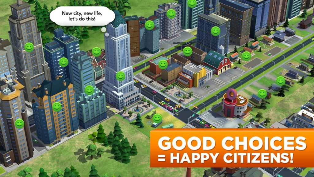 SimCity BuildIt materials