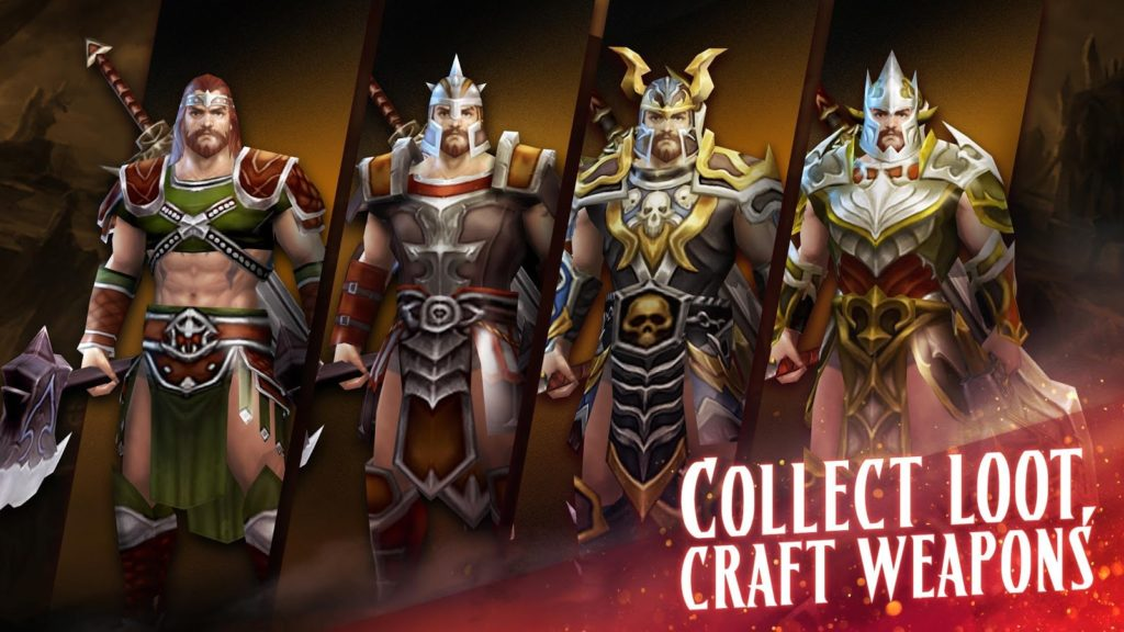 Eternity Warriors 4 weapons
