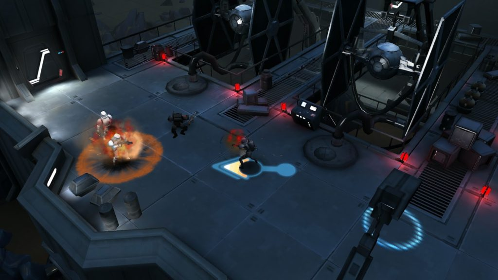 Star Wars Uprising abilities