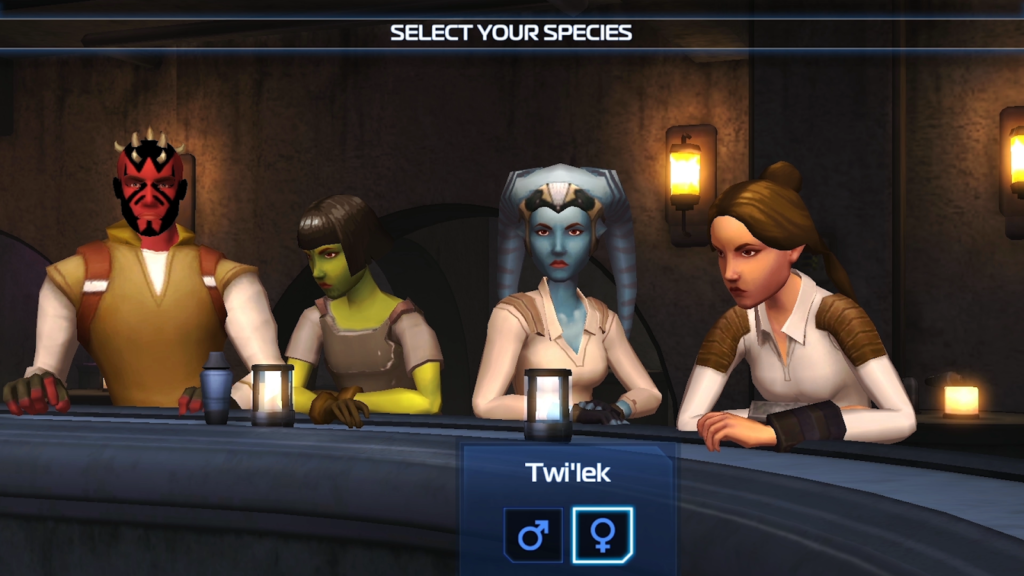 Star Wars Uprising crew