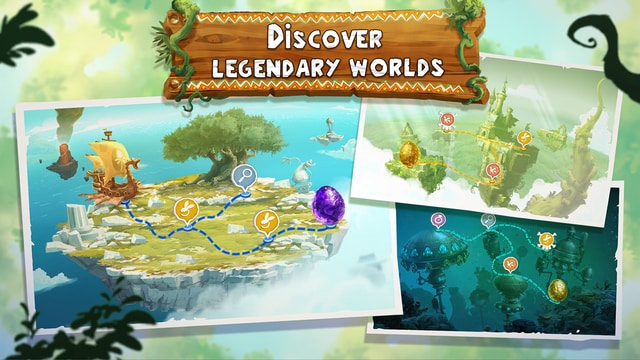 Rayman Adventures discover