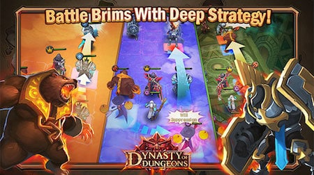 Dynasty of Dungeons battle