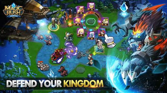 Magic Rush Heroes kingdom