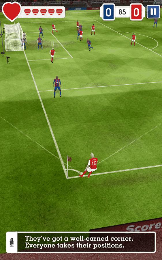 Score! Hero corner