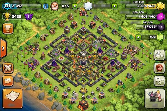 clash of clans layout 1