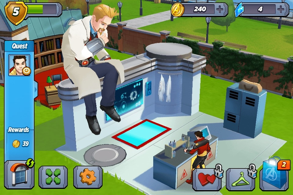 MARVEL Avengers Academy idle